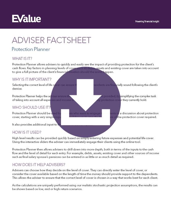 Adviser protection planning document