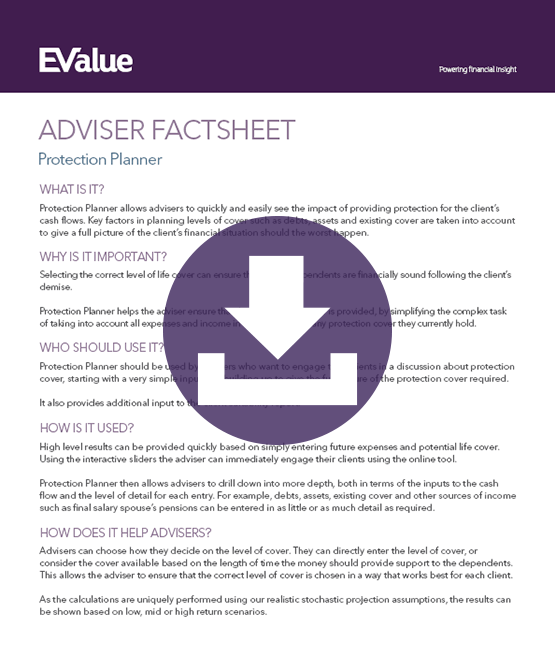Adviser protection planning document