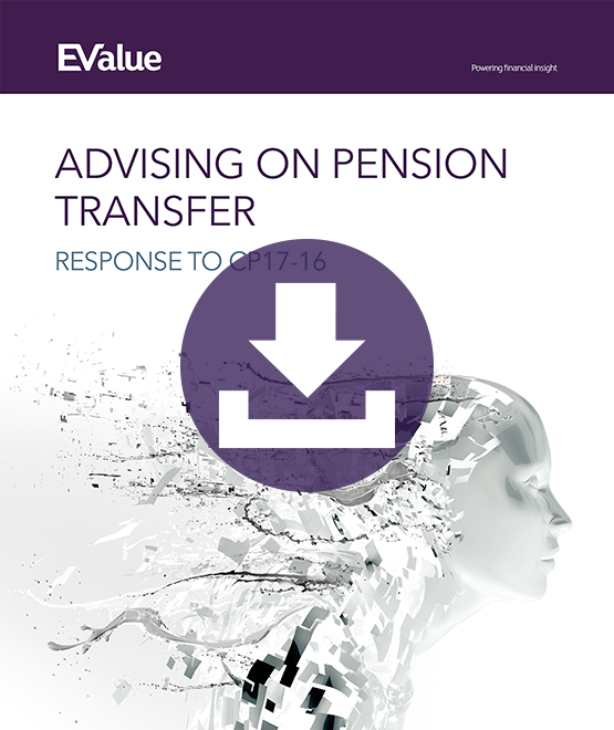 Advising on pension transfers document