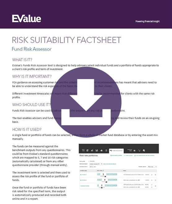 Risk suitability factsheet
