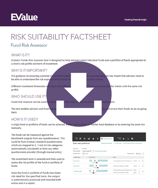 Risk suitability factsheet