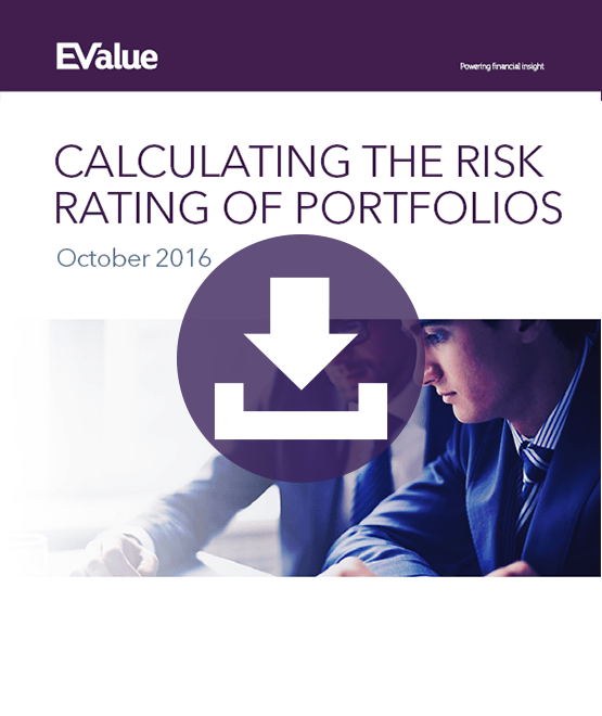 Calculating the risk of rating portfolios