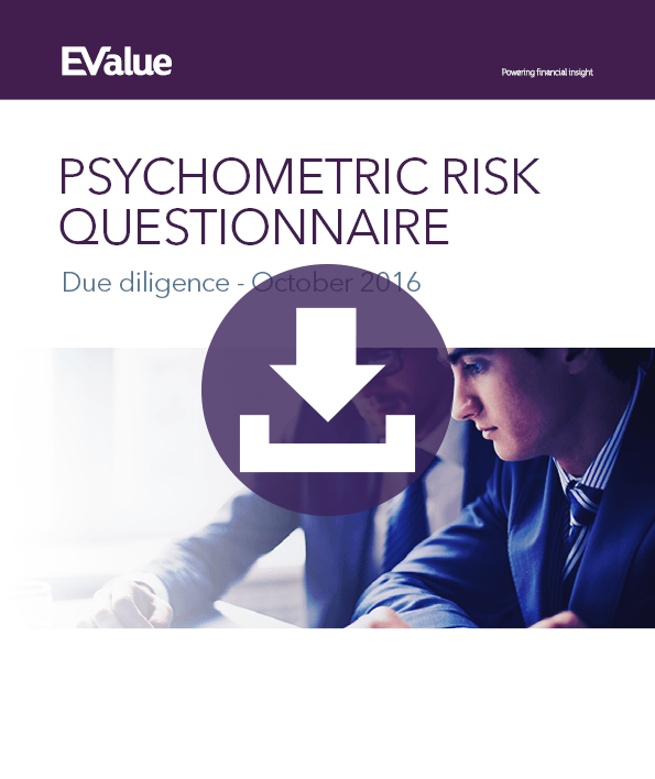 Psychometric risk questionnaire due diligence - October 2016
