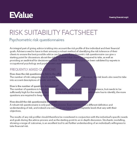 Risk suitability factsheet download